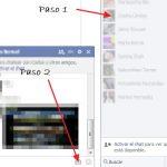 Como enviar fotos desde el Chat de Facebook