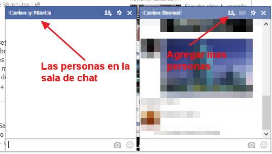 crear sala de chat en facebook