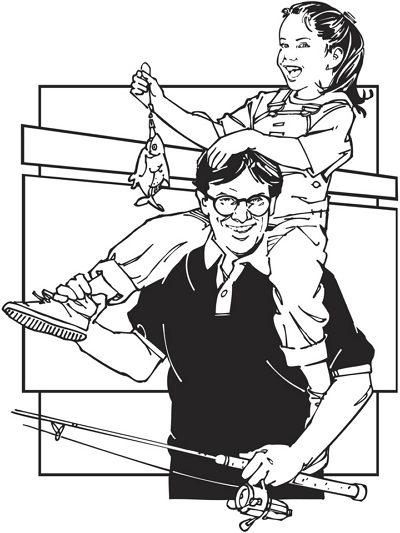 dibujo del dia del padre