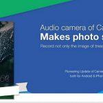 Camera360 Ultimate, tomar fotos con audio en Android