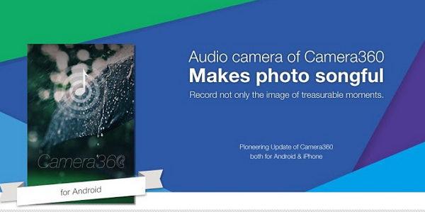 fotos con audio en android