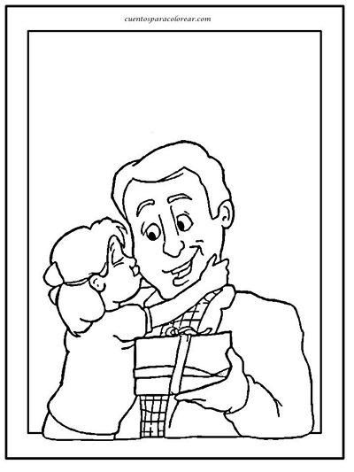 imagen en blanco y negro para el padre