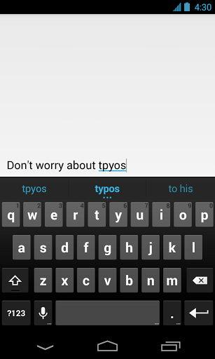 nuevo teclado para android para smartphones