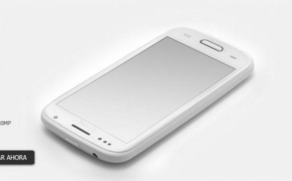 En la imagen una replica China del Galaxy S4