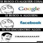 Imagen chistosa: Google, Facebook…