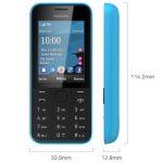 Características y detalles del Nokia 208
