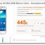Precio del Samsung Galaxy S4 Mini en España