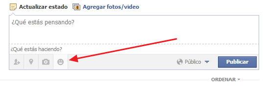 agregar emoticones en facebook