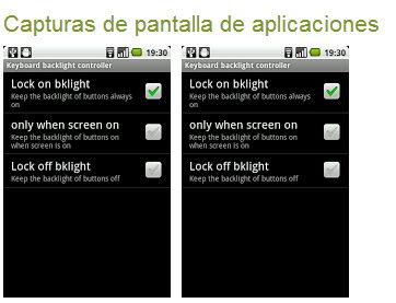 apagar las luces del teclado android