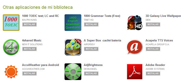 biblioteca android