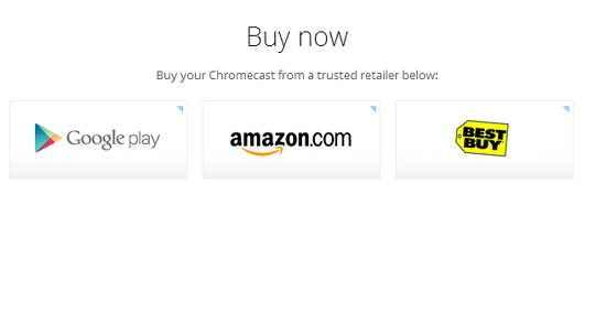 chromecast comprar