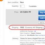 Cómo comprar por internet y no pagar por gastos de envio