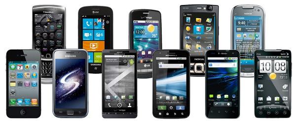 galeria de smartphone