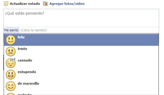 lista de emoticones en fb
