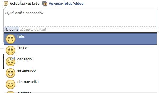 lista de emoticones en fb
