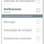 Como dejar de recibir tantas notificaciones en Facebook desde Android