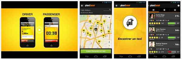 reservar taxi desde android iphone