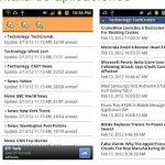 Aplicaciones para leer canales RSS en Android gratis