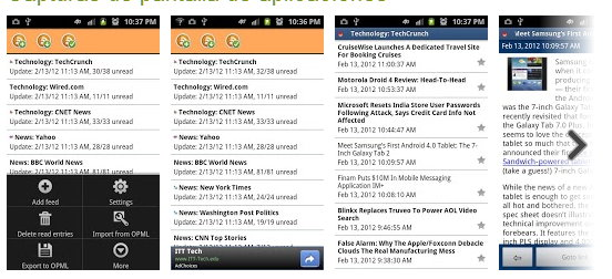 rss reader android 1