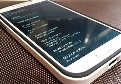una imagen con android 4.3