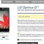LG Optimus G gratis