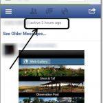 Saber hace cuanto tiempo entro un amigo en Facebook