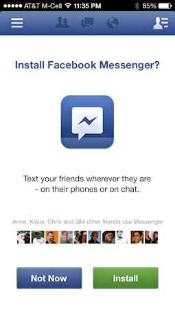 cerrar chat de facebook en el iphone 3