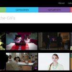giphy.com – publicar Gifs animados en Facebook