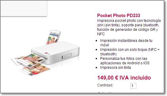 impresora para celular