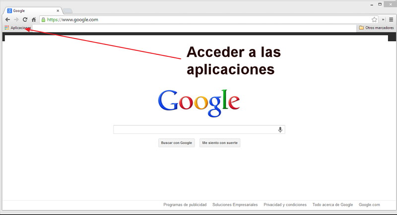 Aplicaciones Chrome