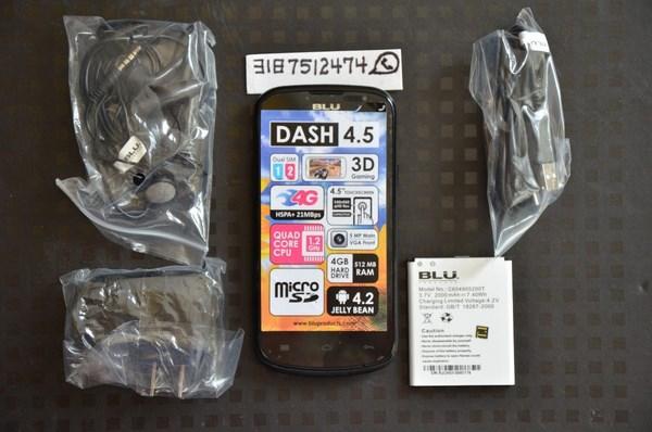 BLU Dash 4.5 imagen 2
