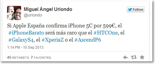 chiste del iphone 2013