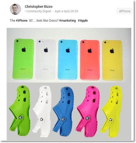 chiste del iphone 4c