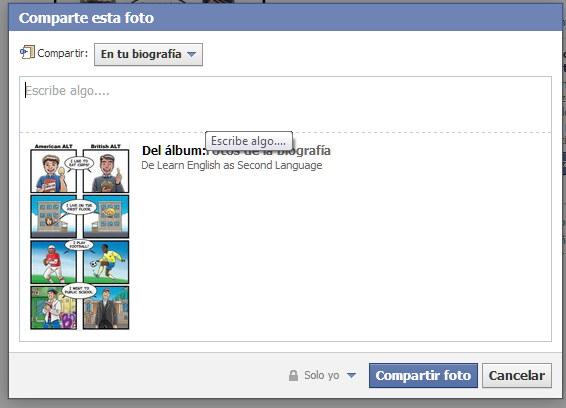 como compartir en fb