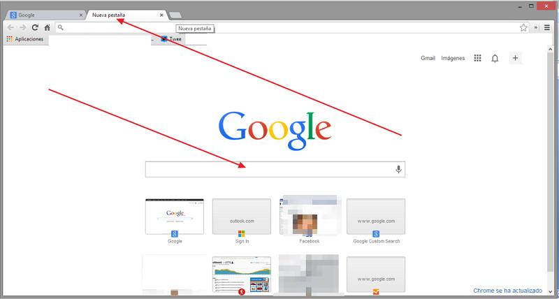 nuevo Chrome