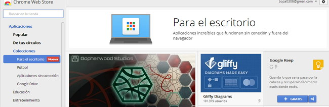 apps chrome para escritorio