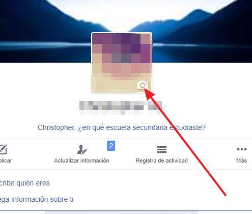 cambiar foto de perfil en facebook