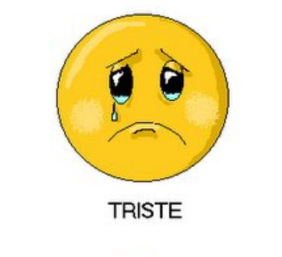 emoticon triste