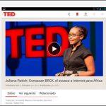 TED para Android, escuchar conferencias y aprender Ingles