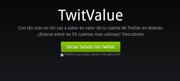 valor de tu cuenta de twitter