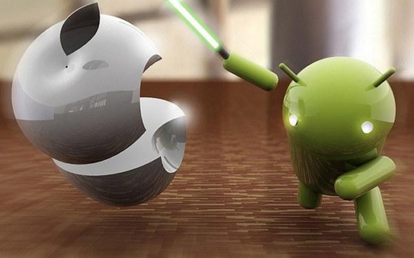 Android vs iOS derrotado
