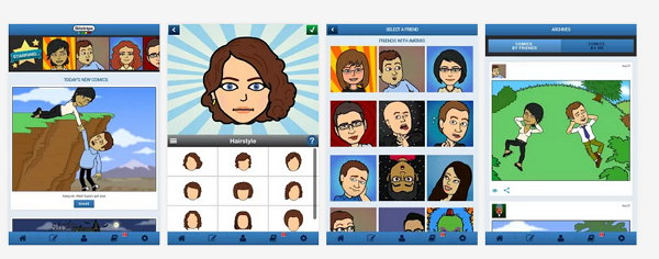 Bitstrips oficial para Android