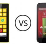 Motorola Moto G vs Nokia Lumia 520 – La comparación!