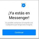 Ver los contactos conectados en el nuevo Messenger