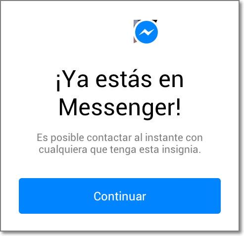 Ver a los que estan conectados en el Facebook Messenger