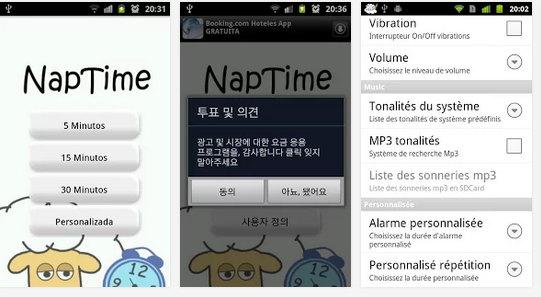 apps para siesta
