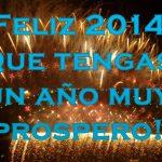 Imágenes para desear un Feliz Año 2014