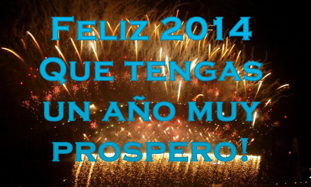 Feliz Año 2014 para Facebook