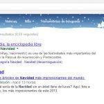 Escribir Navidad en Google – ¿Que pasa?