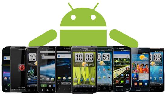 Smartphones Android para el 2014